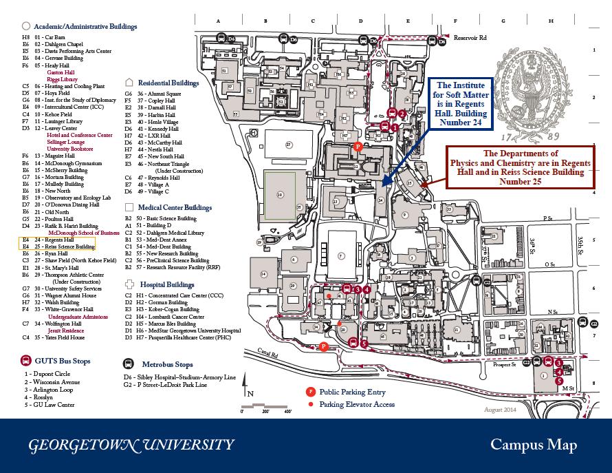 georgetown campus map pdf Workshop On Rheology Of Dense Particulate Suspensions Institute georgetown campus map pdf